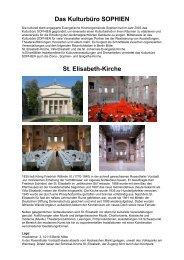 Info-Flyer St. Elisabeth - Kirche - in der Evangelischen ...