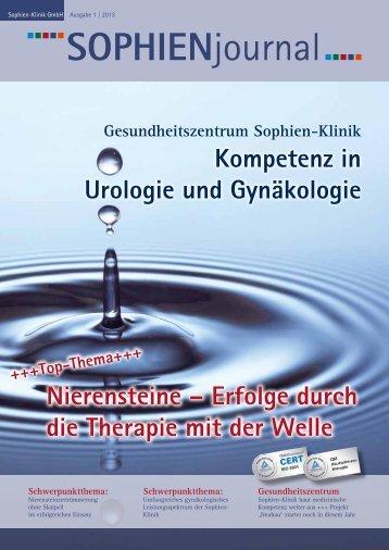 Ausgabe 1-2013 - Sophien-Kliniken Hannover