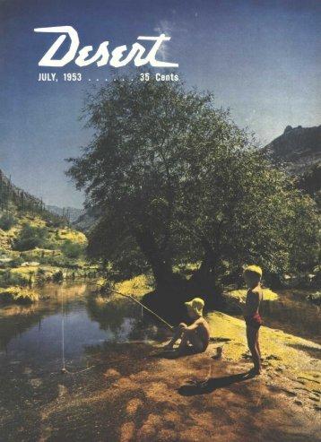 new fr€€ 56 pag6 1953 midycar pricc list - Desert Magazine of the ...
