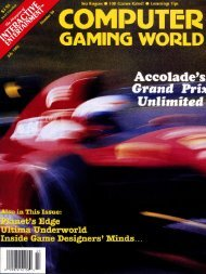 Computer Gaming World Issue 96 - TextFiles.com
