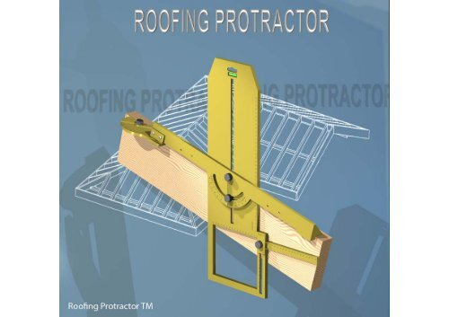Roofing Protractor Instruction Manual (Metric) - Real Inventions