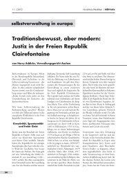 Justiz in der Freien Republik Clairefontaine