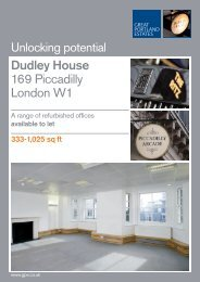 Dudley House 169 Piccadilly London W1 - Savills