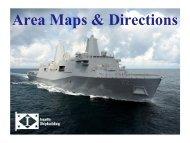 Area Maps & Directions - Ingalls Shipbuilding