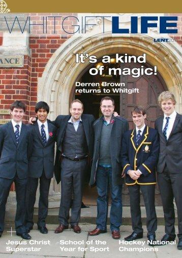 It's a kind of magic! - Whitgift School