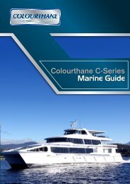 Colourthane Marine Guide - Wattyl Industrial Coatings