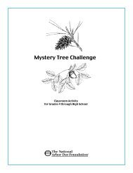 Mystery Tree Challenge - Arbor Day Foundation