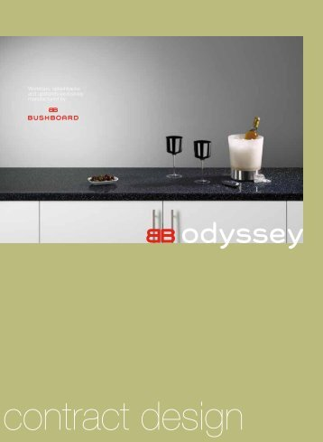 Worktops, splashbacks and upstands exclusively manufactured by