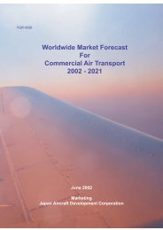 Worldwide Market Forecast For Commercial Air Transport 2002 - 2021