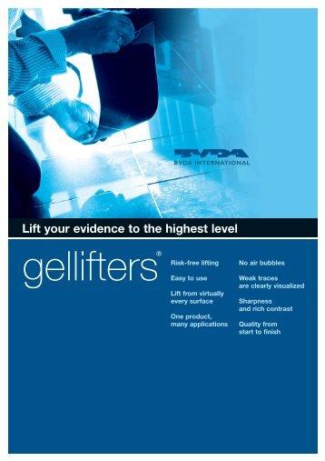 Brochure on the gellifters - BVDA