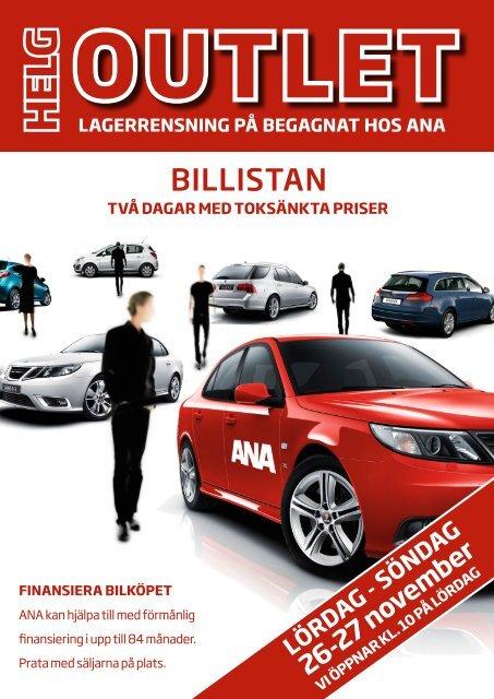 BILLISTAN - SaabsUnited.com