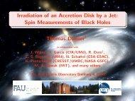 Spin Measurements of Black Holes Thomas Dauser