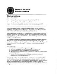 Modification of Standards for Dallas/Fort Worth International ... - FAA