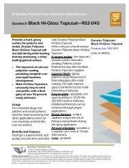 Duratec® Black Hi-Gloss Topcoat—902-045 - Hawkeye Industries
