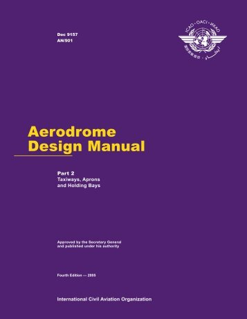 Aerodrome Design Manual