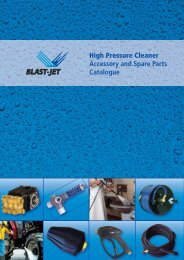 High Pressure Cleaner Accessory and Spare Parts ... - Daynatech