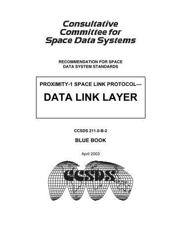 Proximity-1 Space Link Protocol - CCSDS
