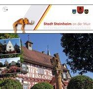 Steinheimer Infobroschüre 2013 - Stadt Steinheim an der Murr