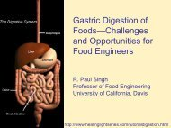 Gastric Digestion of Foods—Challenges and Opportunities for Food ...