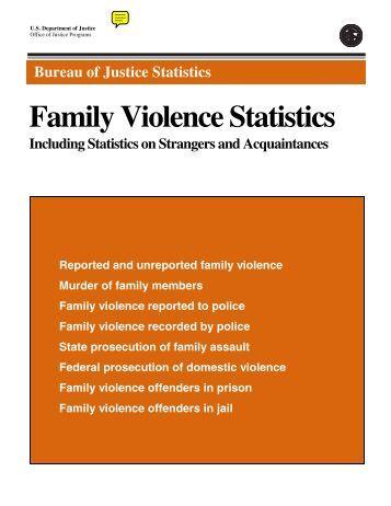Family for Bureau justice statistics