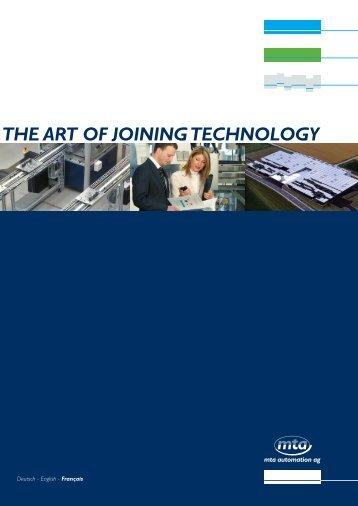 TECHNIQUES PLATEFORMES - MTA Automation AG