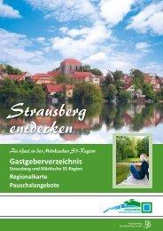 Gastgeberverzeichnis - Stadt Strausberg