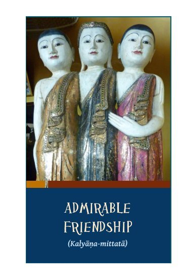 Admirable Friendship - HolyBooks.com