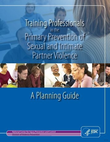 Training Professionals in the Primary Prevention of Sexual and ...