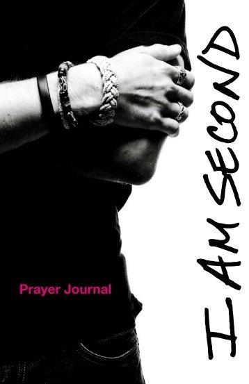 Prayer Journal - I am Second