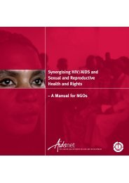 Synergising HIV/AIDS and Sexual and Reproductive Health and ...