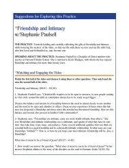 *Friendship and Intimacy w/Stephanie Paulsell - Practicing Our Faith