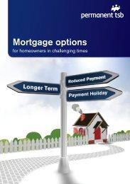 Mortgage Options Brochure (pdf) - Permanent TSB