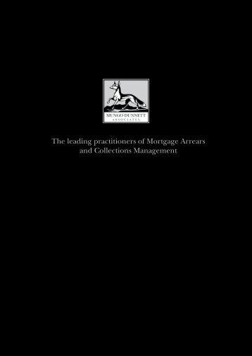 Arrears and Collections Management - Mungo Dunnett Associates