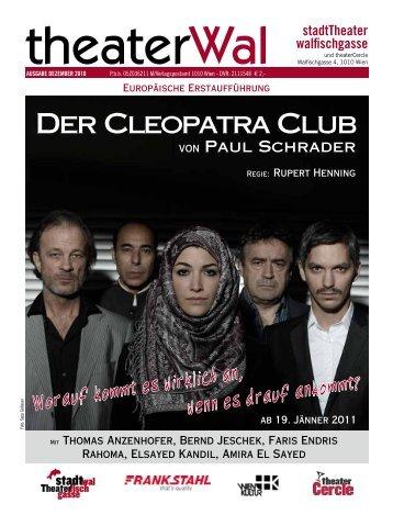 Der Cleopatra Club - Stadttheater Walfischgasse