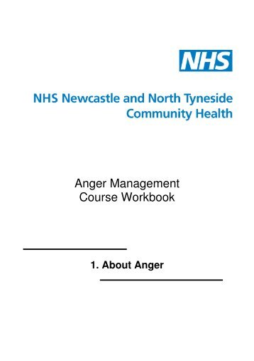 Anger Management Course Workbook - Newcastle Psychological ...