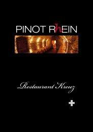 Taufe PINOT RhEIN 2010 - Weine Familien Liesch