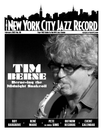 February 2012 - The New York City Jazz Record