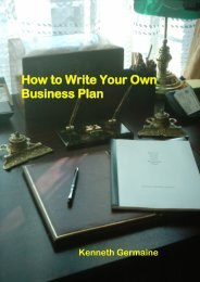 How To Write Your Own Business Plan – WordPress