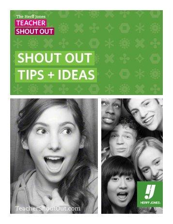 Download a Pdf - Teacher Shout Out
