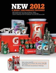 G SERIES® PERFORMANCE PACKAGES