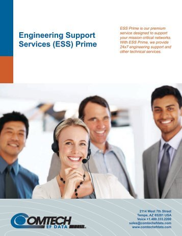 Engineering Support Services (ESS) Prime - Comtech EF Data