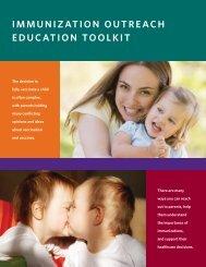 IMMUNIZATION OUTREACH EDUCATION TOOLKIT - Maine.gov