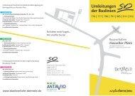 Umleitungen der Buslinien - Stadtverkehr Detmold GmbH