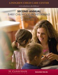 Second AnnuAl EARLY CHILDHOOD PROFESSIONALS ...