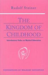 The Kingdom of Childhood - SteinerBooks