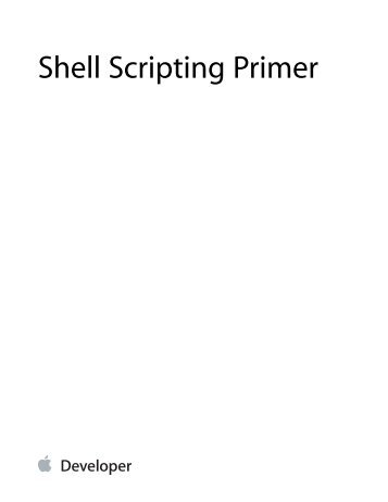 Shell script pdf