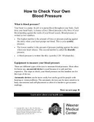How to Check Your Own Blood Pressure - Patient Education Home