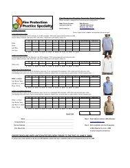 Shirt Order form FPPS 06-09 final