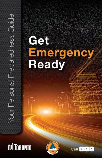 Personal Preparedness Guide - City of Toronto