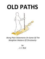Old Paths (.pdf) - Preach The Word